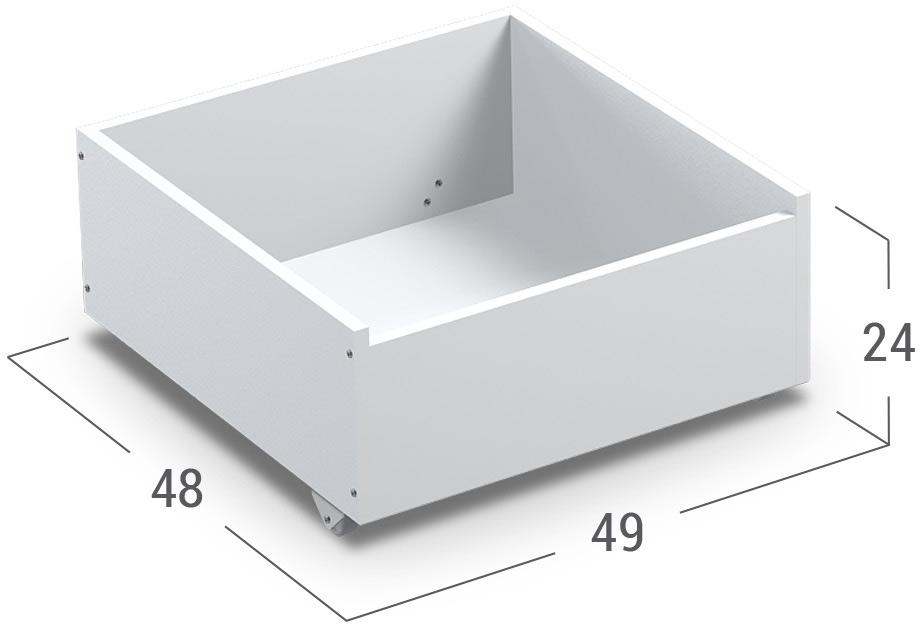 Бельевица 37 литров Модель 046Купить вместительный бельевой короб в интернет-магазине MOON TRADE. Размеры 48х49х24 см. Быстрая доставка, вынос упаковки, гарантия! Выгодная покупка!<br><br>Ширина см: 49<br>Глубина см: 48<br>Высота см: 24<br>Цвет: Белый
