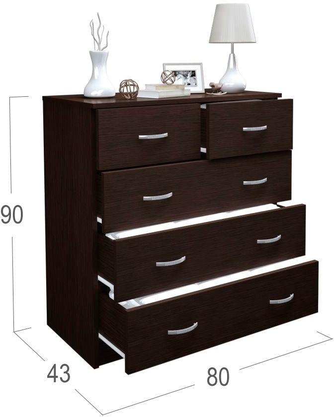 Комод Милан 13 Модель 813На столешнице комода аккуратно разместятся элементы различного декора.