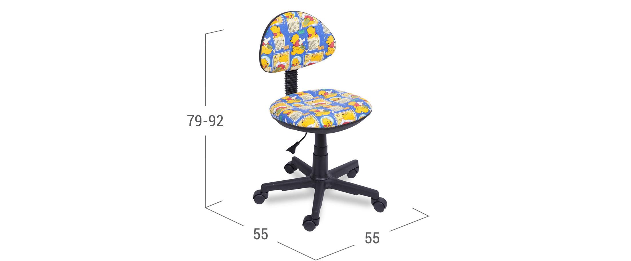Кресло детское Star multicolor модель 376<br><br>Ширина см: 55<br>Глубина см: 55<br>Высота см: 79<br>Максимальная нагрузка : 80<br>Глубина посадочного места см: 37<br>Цвет: Разноцветный<br>Материал каркаса: Пластик