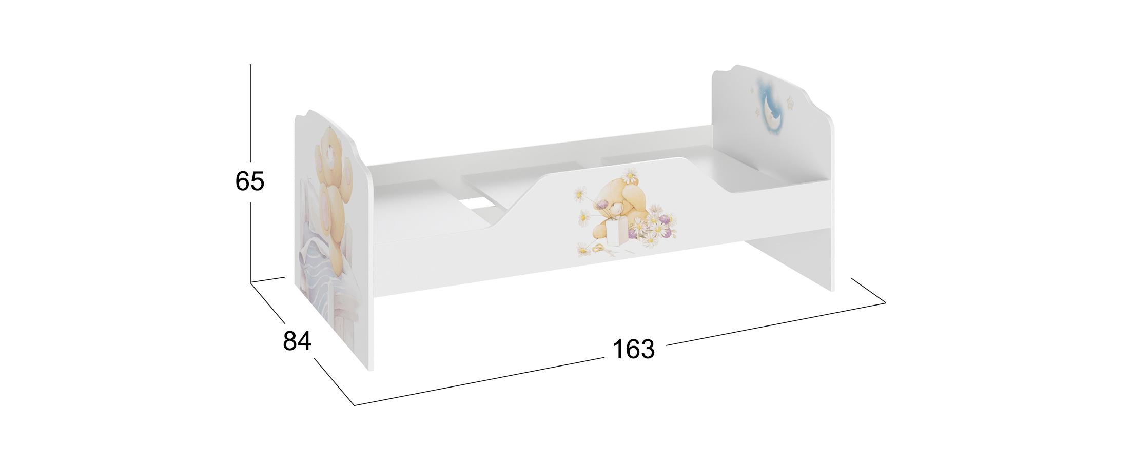 Кровать детская Тедди Модель 931
