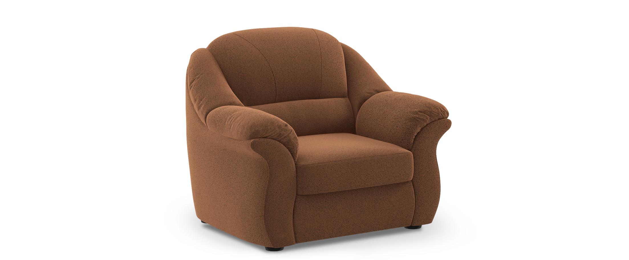 Кресло Бостон 017Купить коричневое кресло Бостон из замши от производителя. Доставка от 1 дня. Подъём, сборка, вынос упаковки. Гарантия 18 месяцев. Интернет-магазин мебели MOON-TRADE.RU<br><br>Ширина см: 117<br>Глубина см: 92<br>Высота см: 99<br>Глубина посадочного места см: 50<br>Цвет: Коричневый<br>Материал: Замша<br>Жёсткость: Мягкий<br>Каркас: Массив дерева<br>Чехол: Несъёмный<br>Основание: Резинотканевые ремни<br>Бельевой короб: Есть<br>Мягкий настил: ППУ<br>Код ткани: 67-78<br>Модель: Бостон<br>Бренд: MOON-TRADE