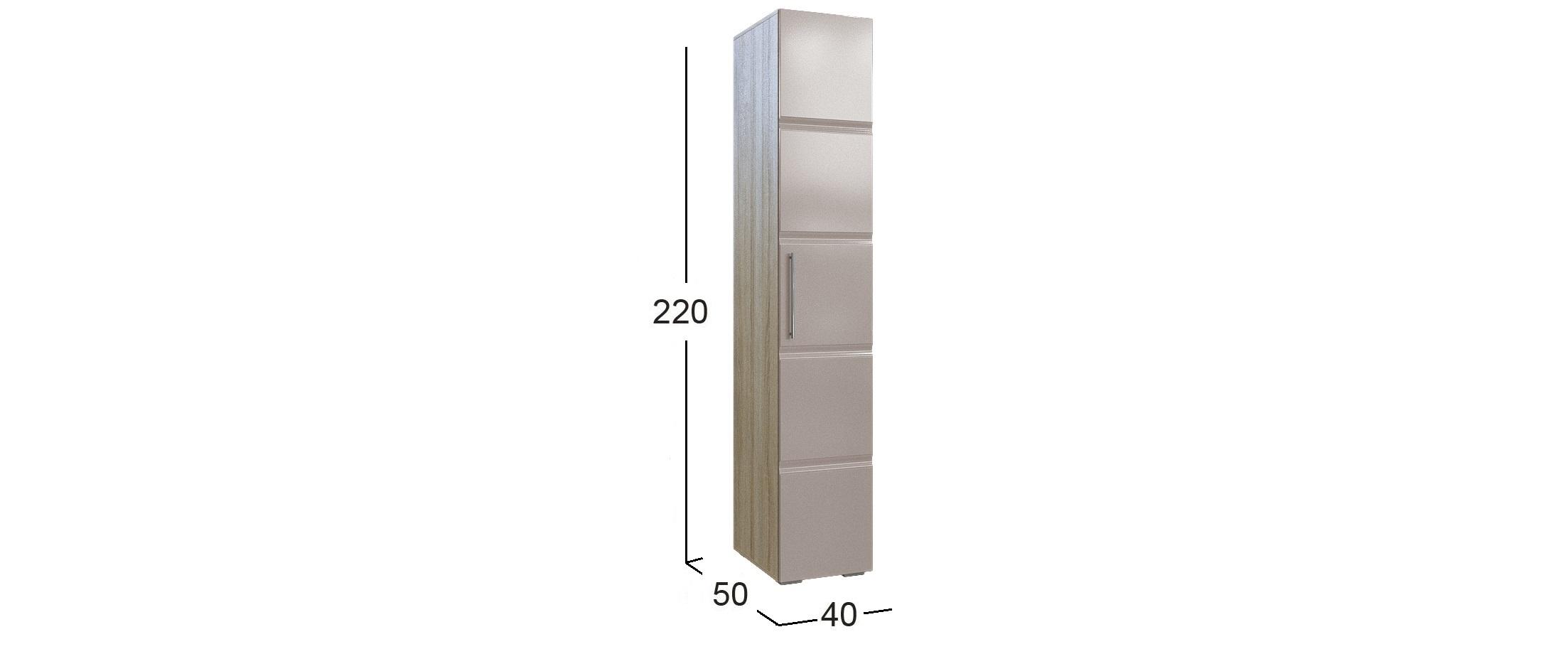 Шкаф 1-дверный София Fresh