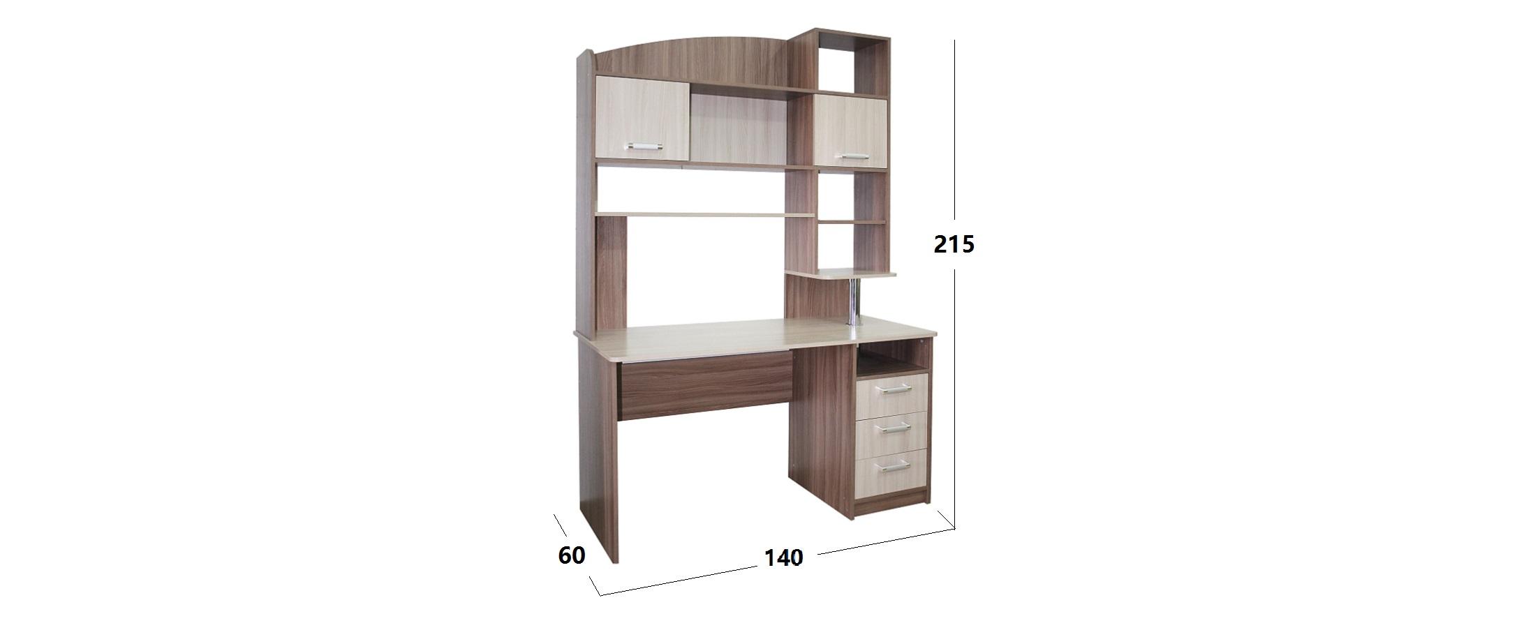Стол компьютерный/письменный Престиж-9 Модель 506