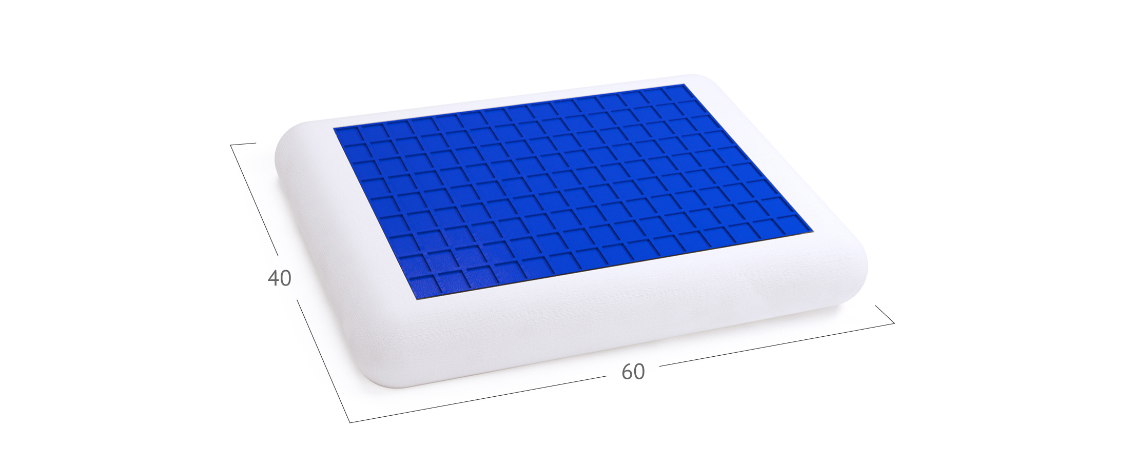 Подушка Модель 588 Classic Gel