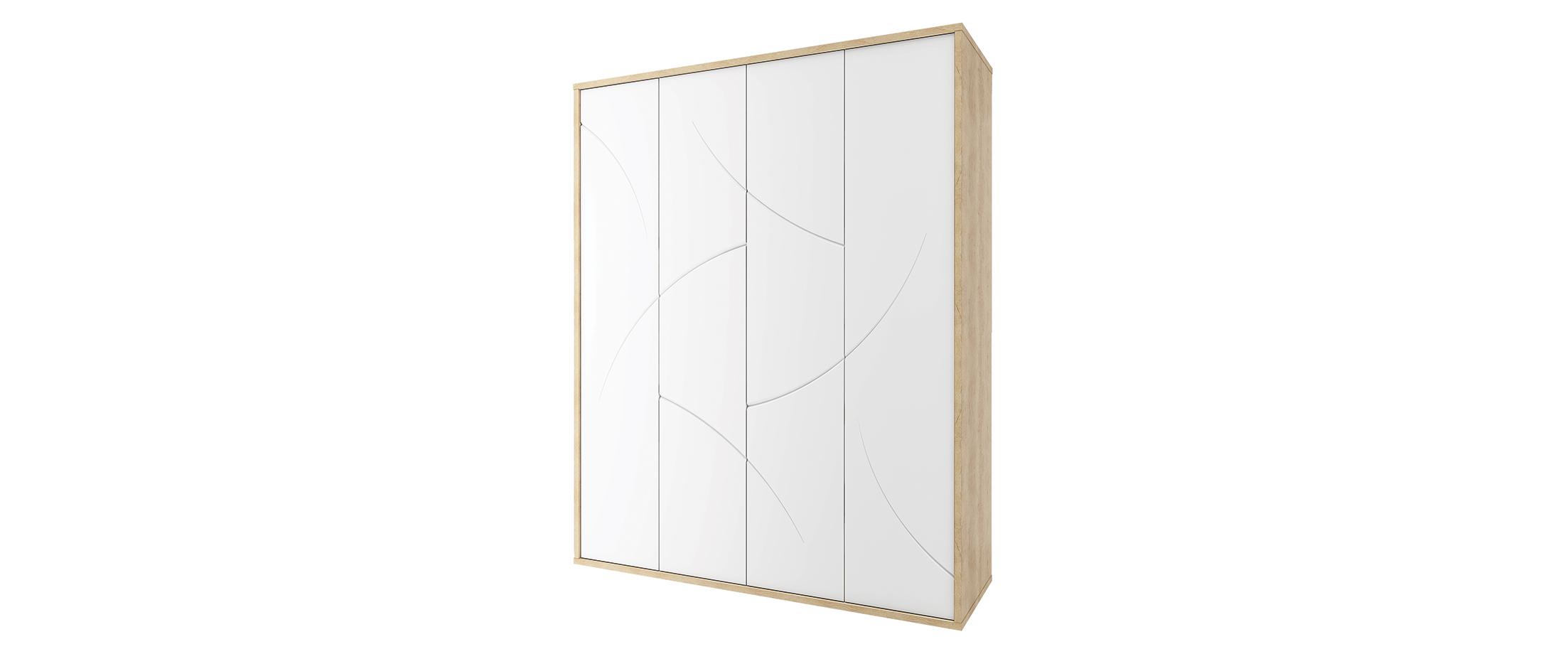 Шкаф 4 двери Мадейра