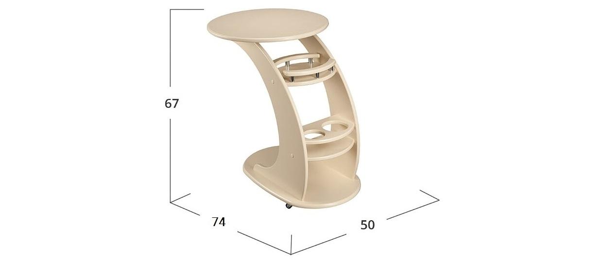 Стол подкатной Люкс Модель 579