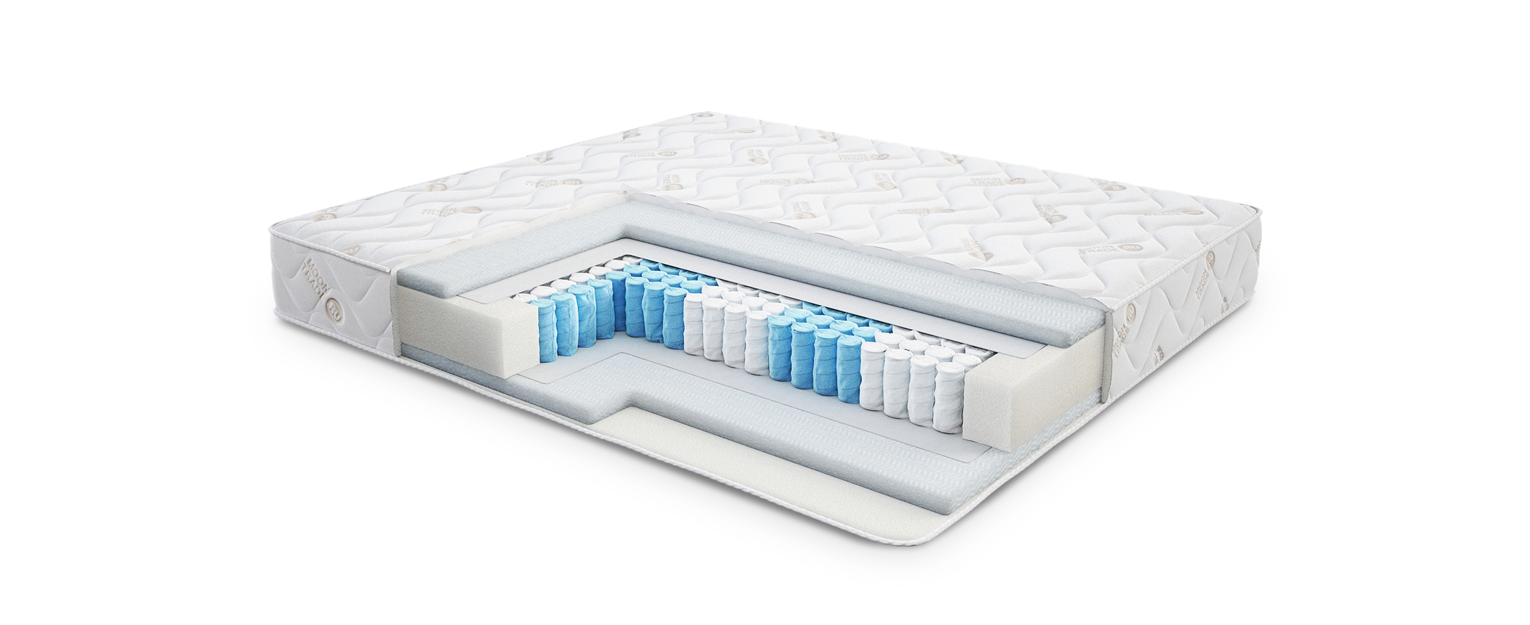 Comfort Magic 405 матрас 120x200Жёсткий матрас с ортопедическим эффектом. Наполнитель гипоаллергенный материал OpenForm. Размеры 120x200 см. Купить в интернет-магазине MOON TRADE.