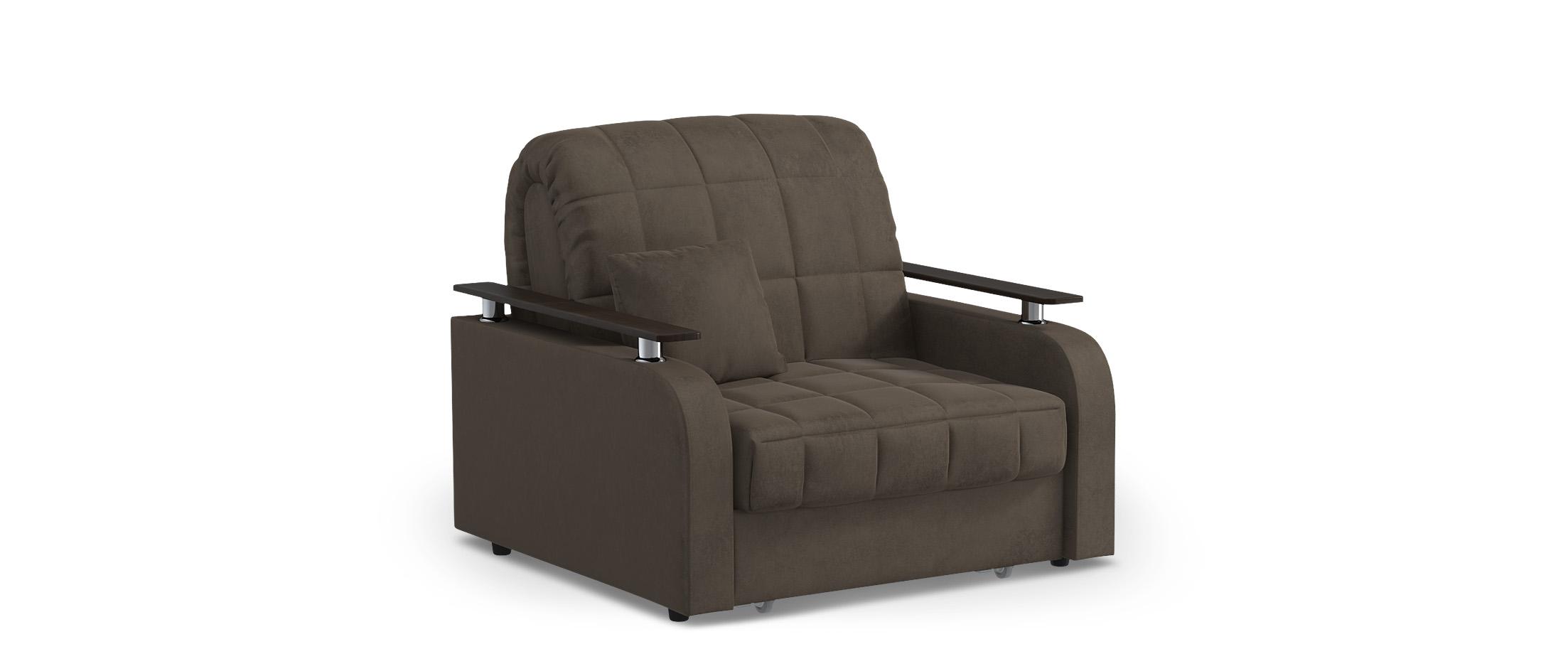 Кресло-кровать Карина 044Купить коричневое  кресло-кровать Карина 044. Доставка от 1 дня. Подъём, сборка, вынос упаковки. Гарантия 18 месяцев. Интернет-магазин мебели MOON-TRADE.RU