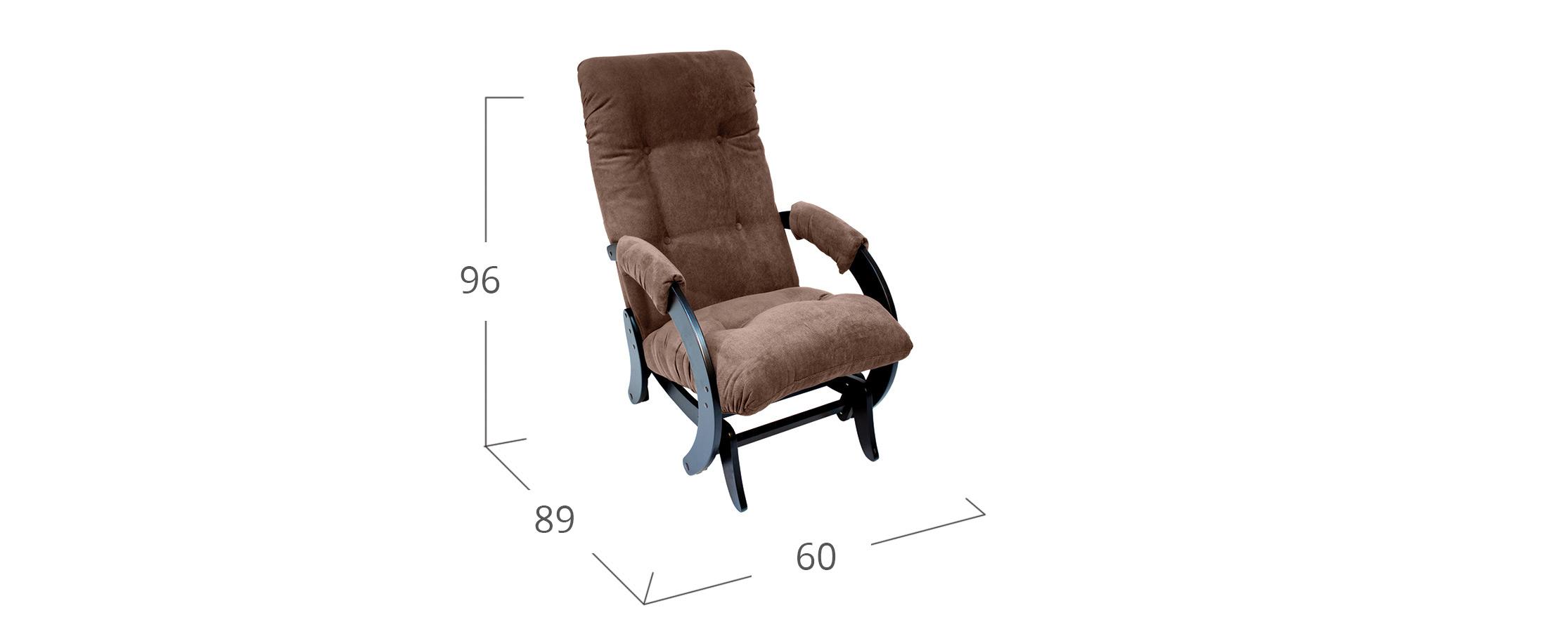 Кресло-гляйдер 68 VeronaBrown Венге