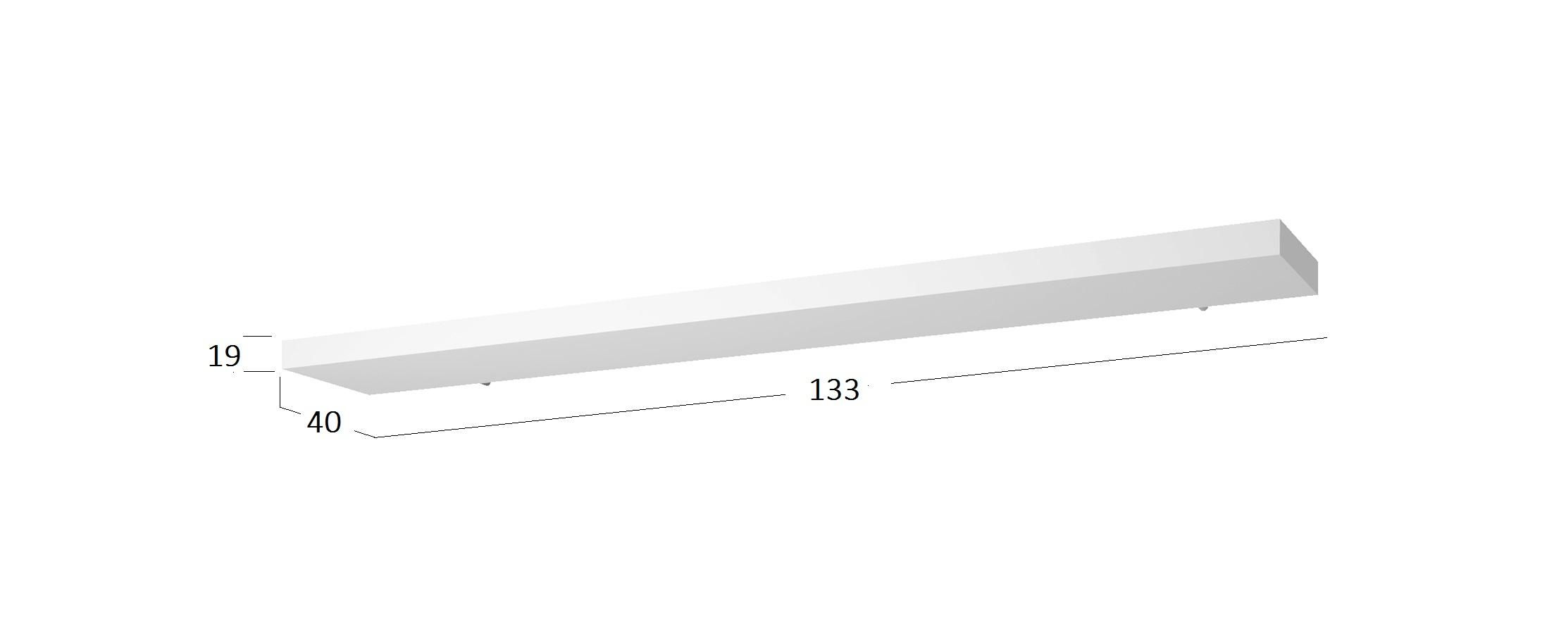 Полка навесная Норден Модель 290