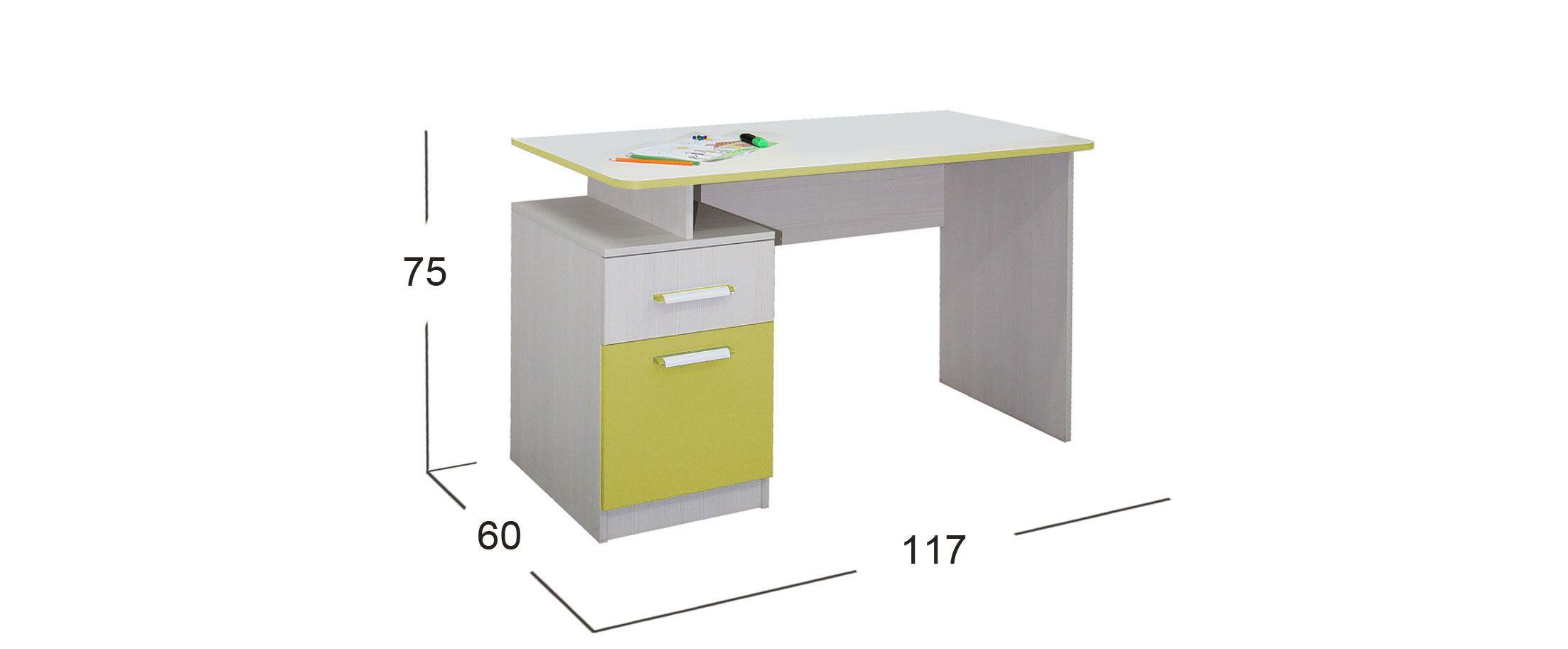Стол письменный Скейт-5 Модель 516
