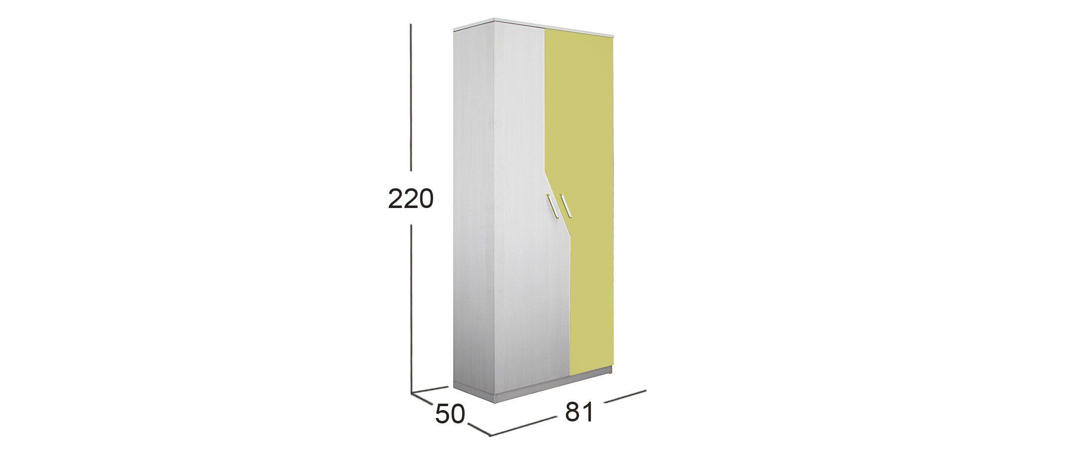 Шкаф для одежды Скейт-5 Модель 516