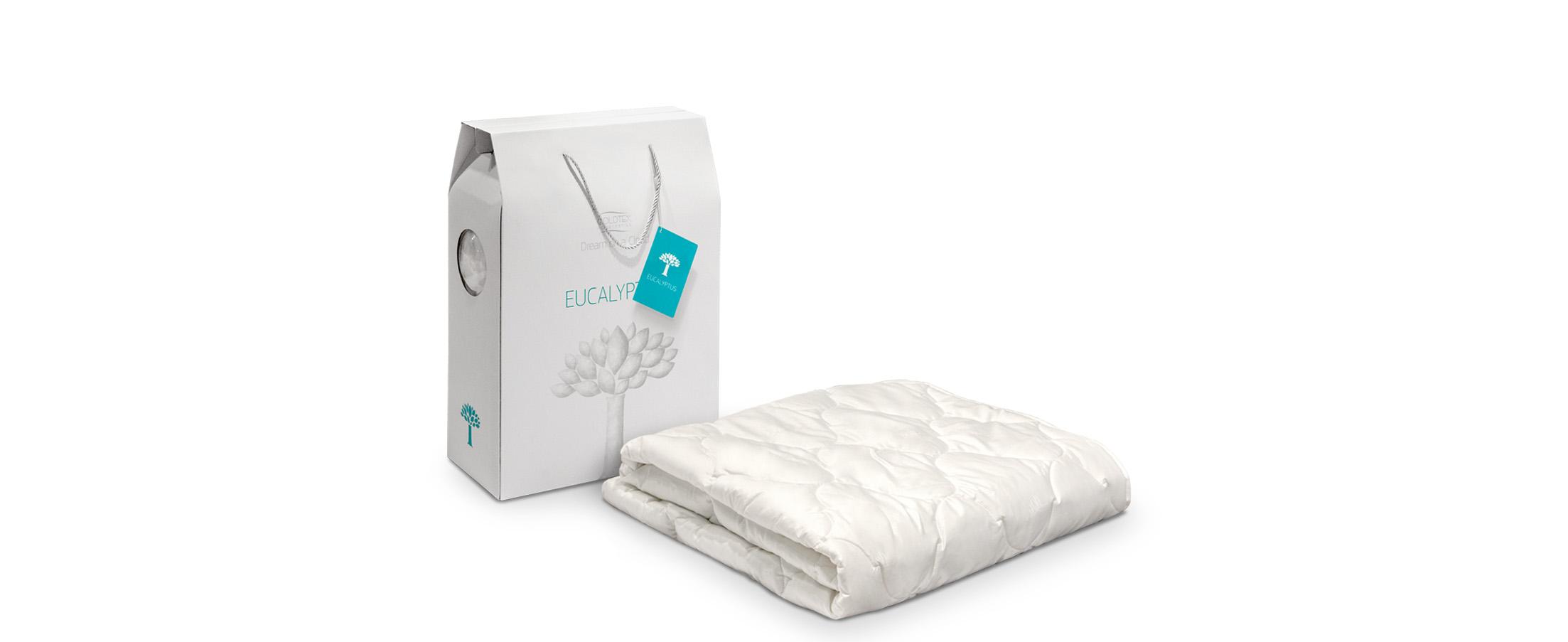 Одеяло Eucaliptus 172х205Постельные принадлежности линейки ECALIPTUS изготовлены из натуральных материалов: хлопковый сатин и наполнитель растительного происхождения Tencel. Купить в интернет-магазине MOON TRADE.