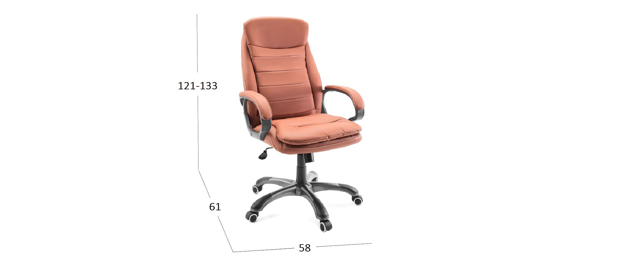 Кресло CL46 Модель 376Кресло офисное СL46 кирпичный Модель 376. Артикул Д001094