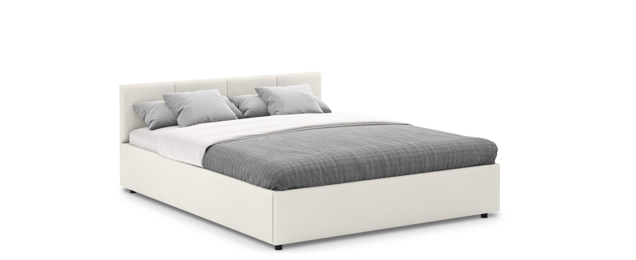 Кровать двуспальная Прима 160х200 Модель 1200Кровать Прима -  элегантное и практичное решение по доступной цене.  Продуманный до мелочей дизайн кровати прекрасно подойдет для любого интерьера.