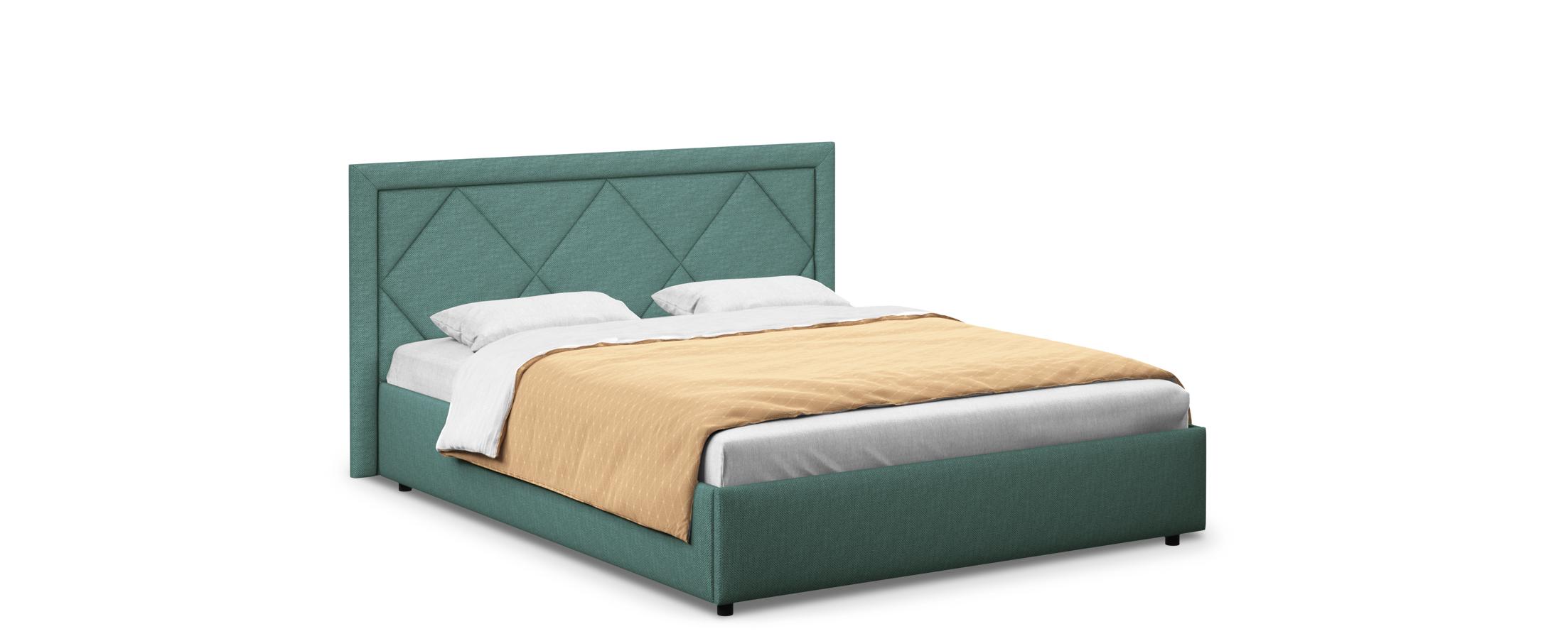 Кровать двуспальная Доменика 140х200 Модель 1203Модель Доменика придаст комнате индивидуальность сделает вашу спальню особенной.