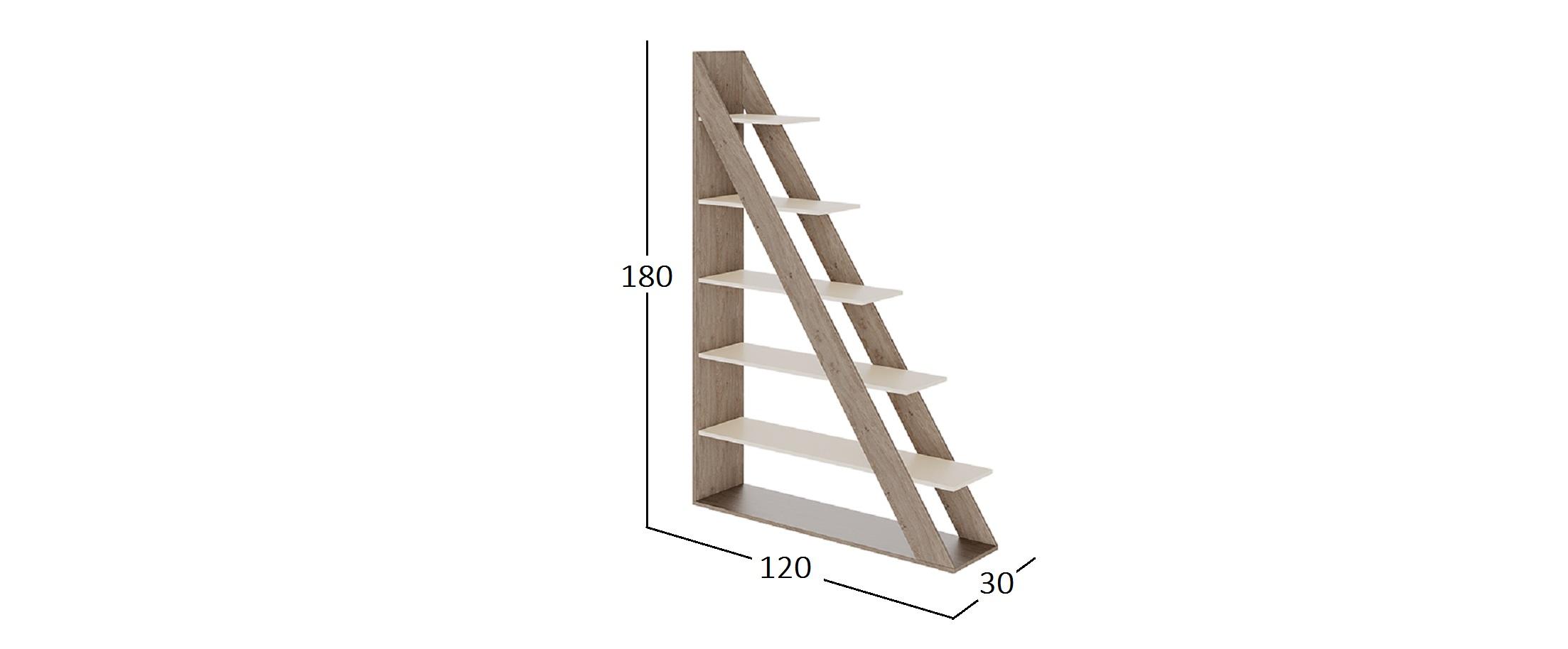 Стеллаж Треугольник