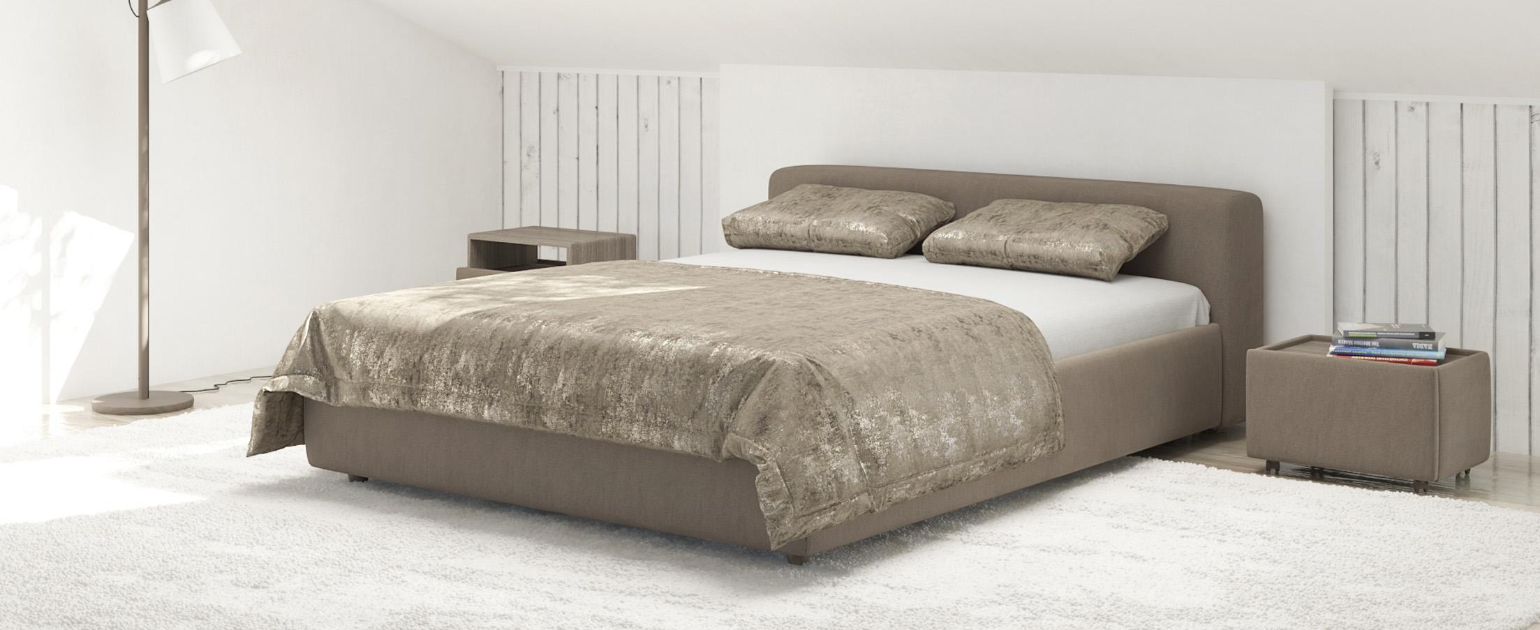 Кровать двуспальная MOON 1007a фото