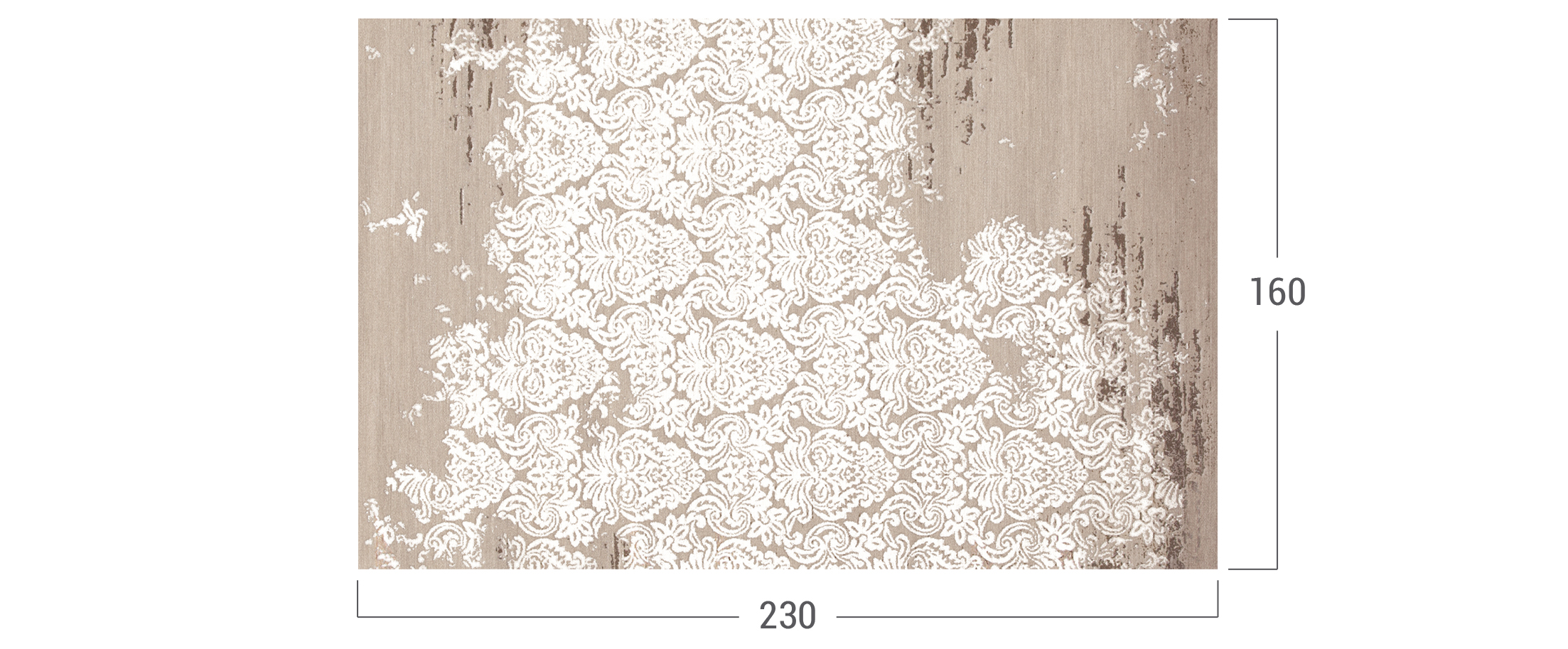Ковёр Modena shaw beige Модель 4208