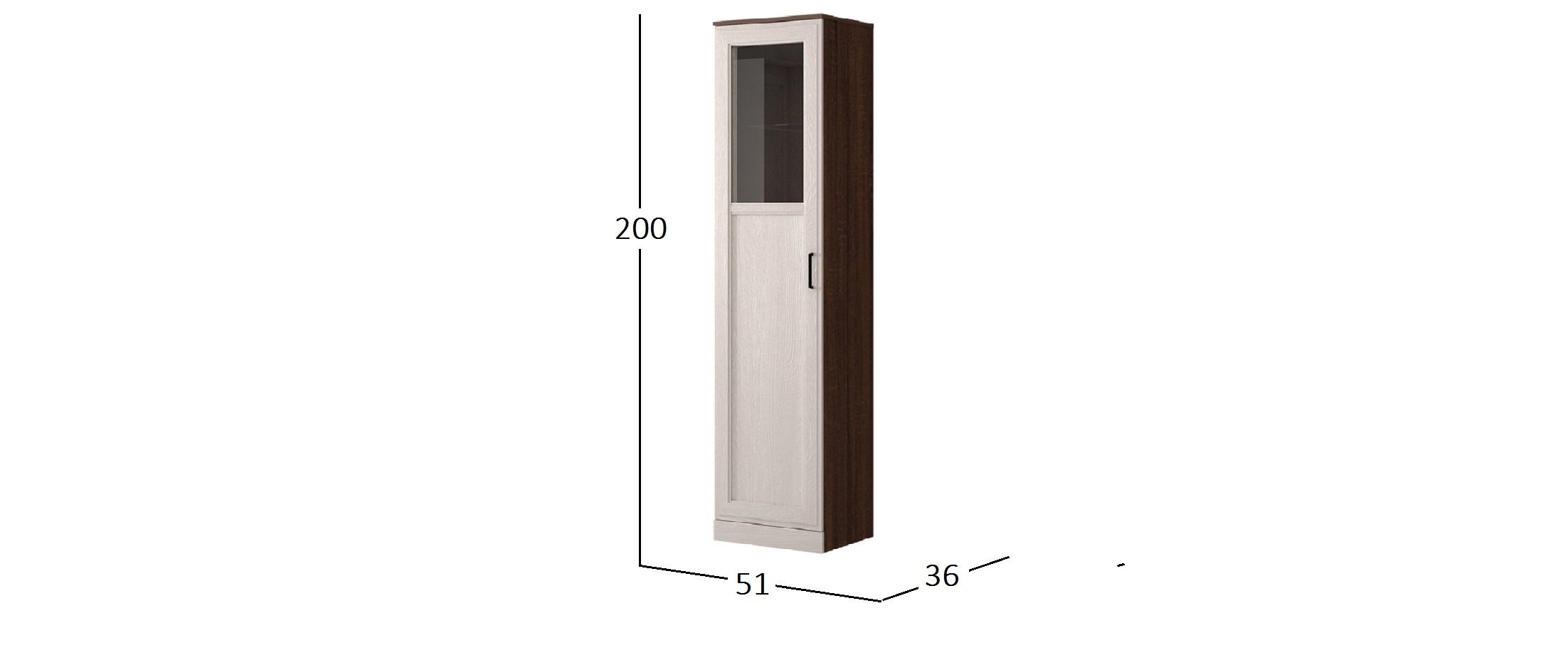 Шкаф-пенал Стелла Модель 904