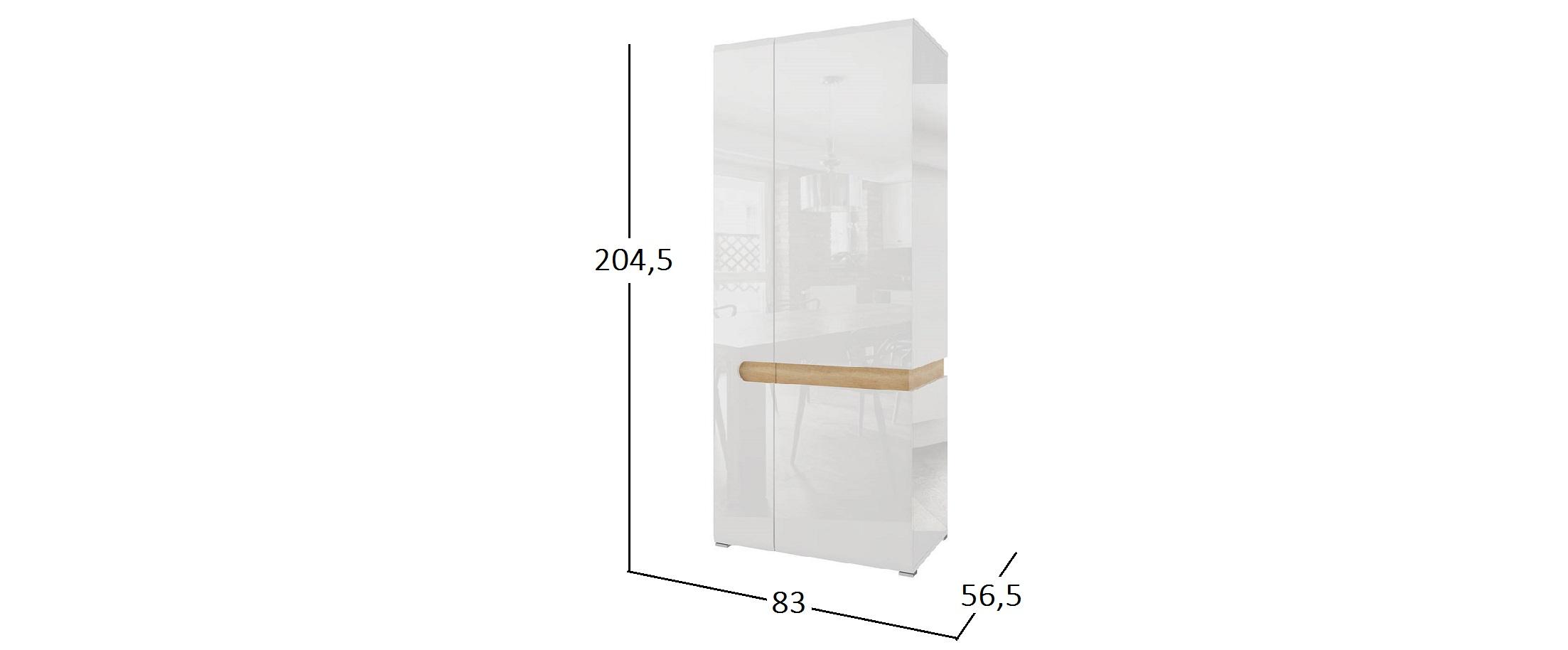 Шкаф 2-х дверный Катания Модель 293