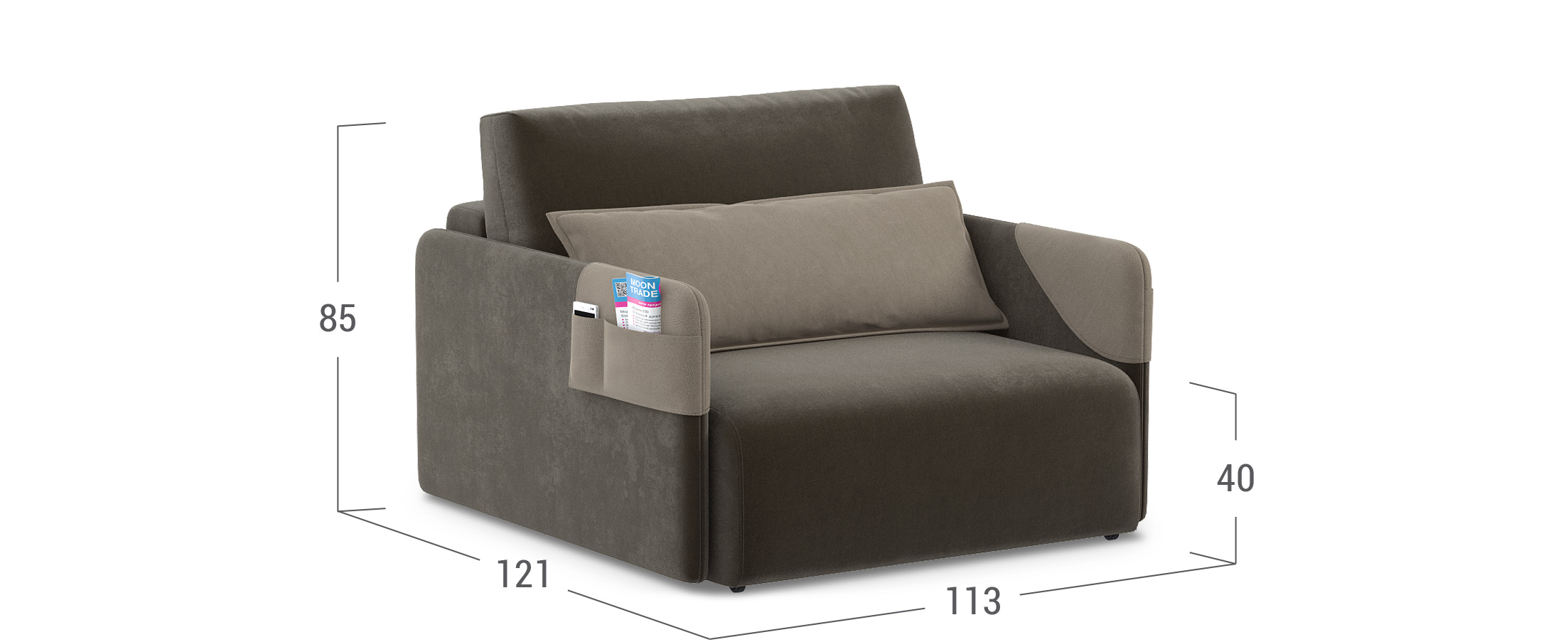 Кресло еврокнижка Барселона 118