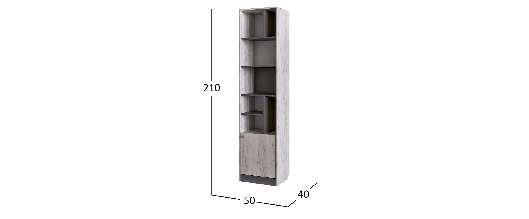 Шкаф открытый Крафт Модель 502