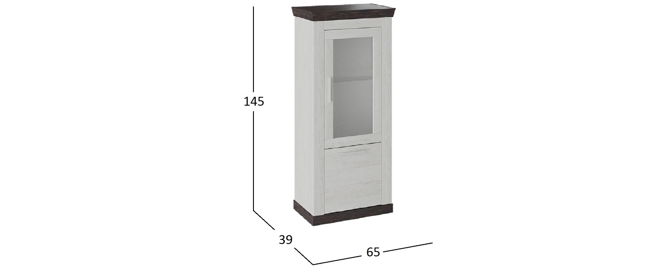 Шкаф Витрина Поланд тип 2 Модель 941