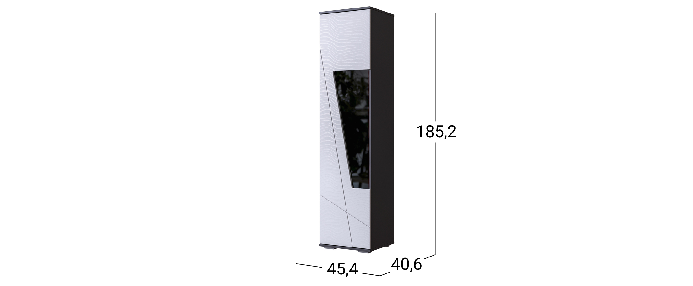 Шкаф-витрина Лея №1 Модель 501