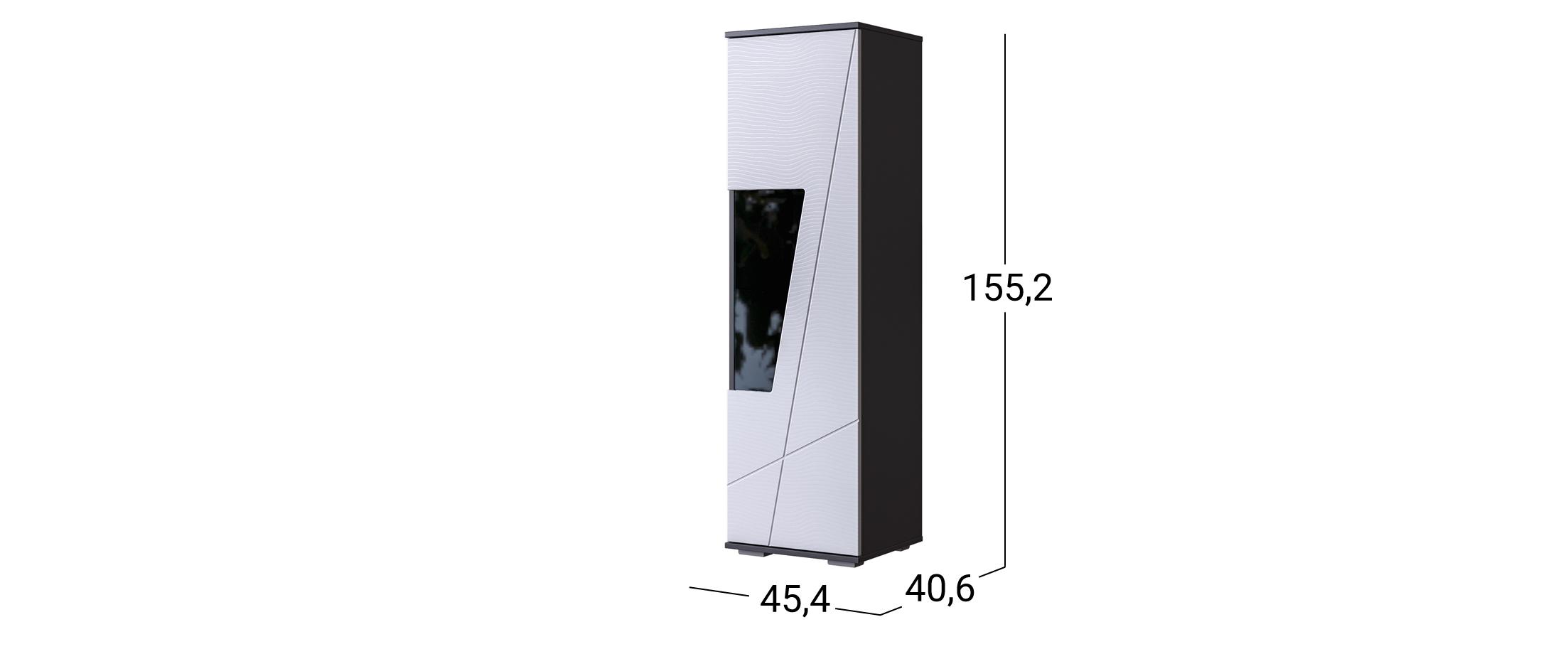 Шкаф-витрина Лея №2 Модель 501