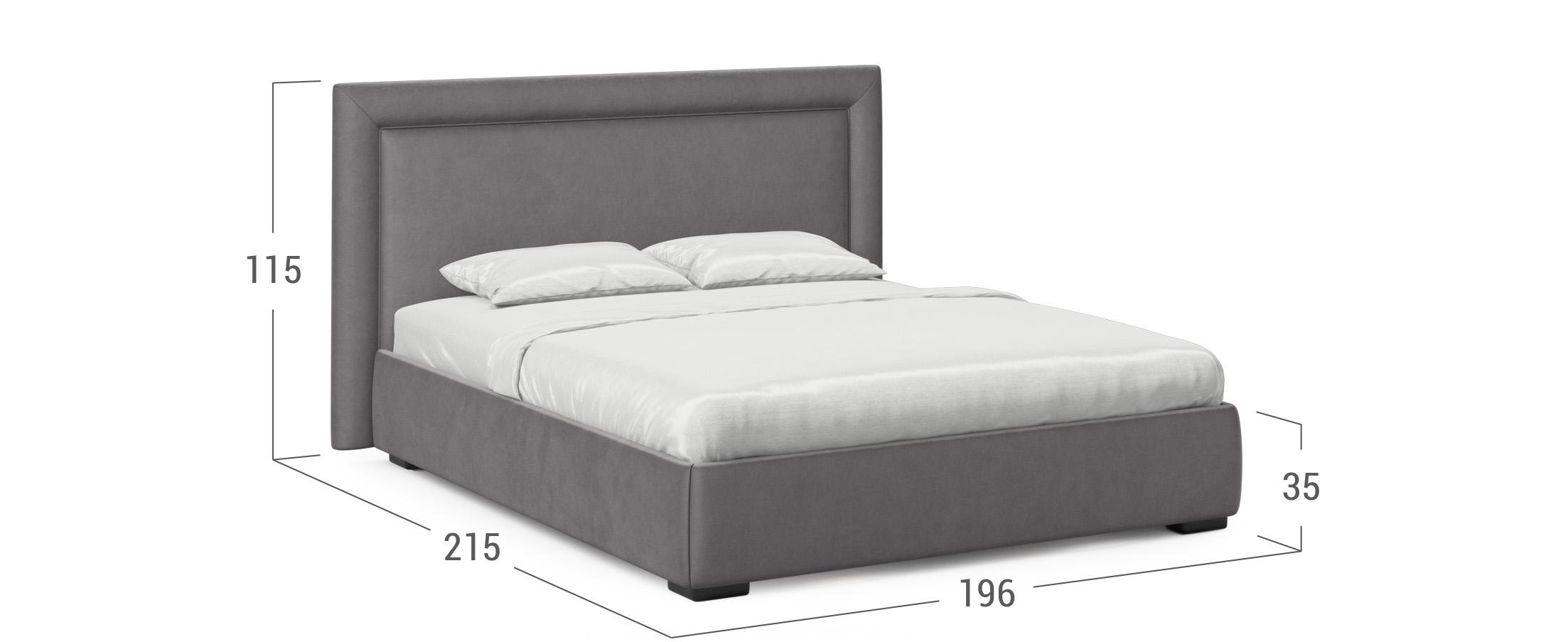 Кровать двуспальная MOON 1002