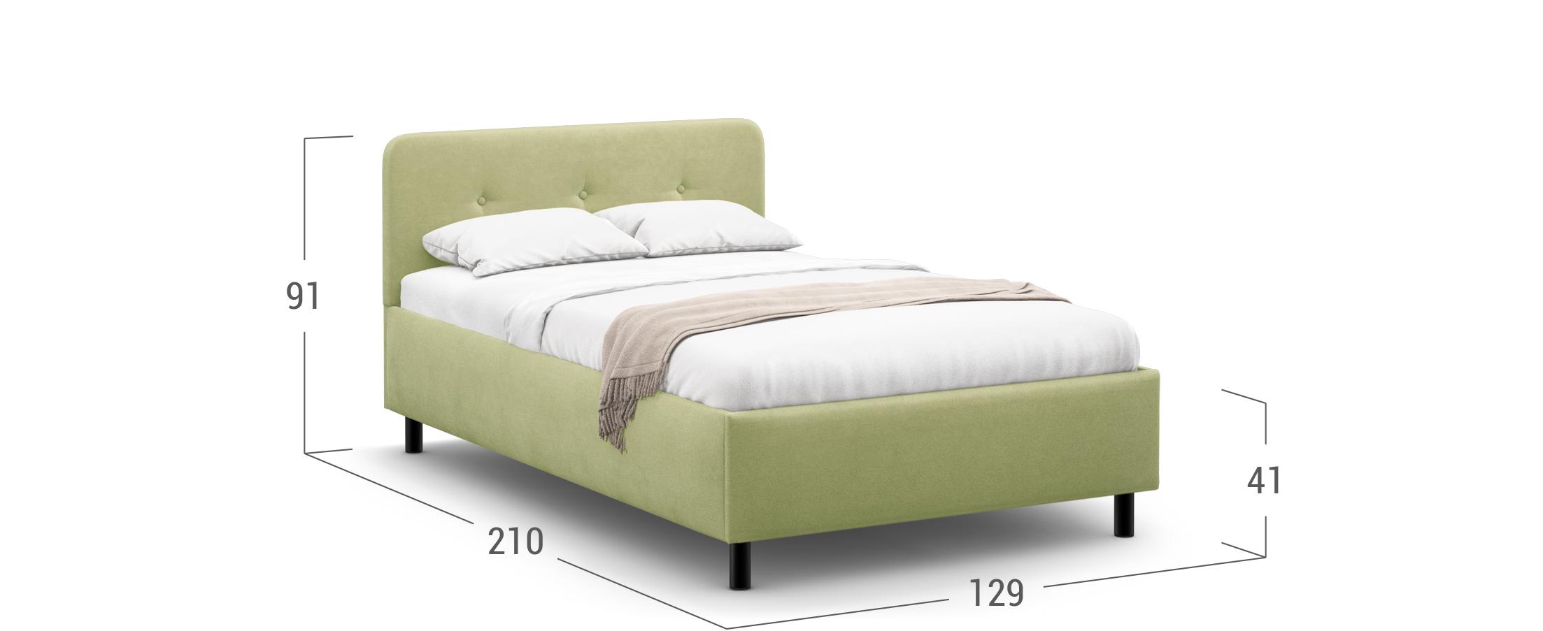 Кровать односпальная MOON FAMILY 1232 120х200