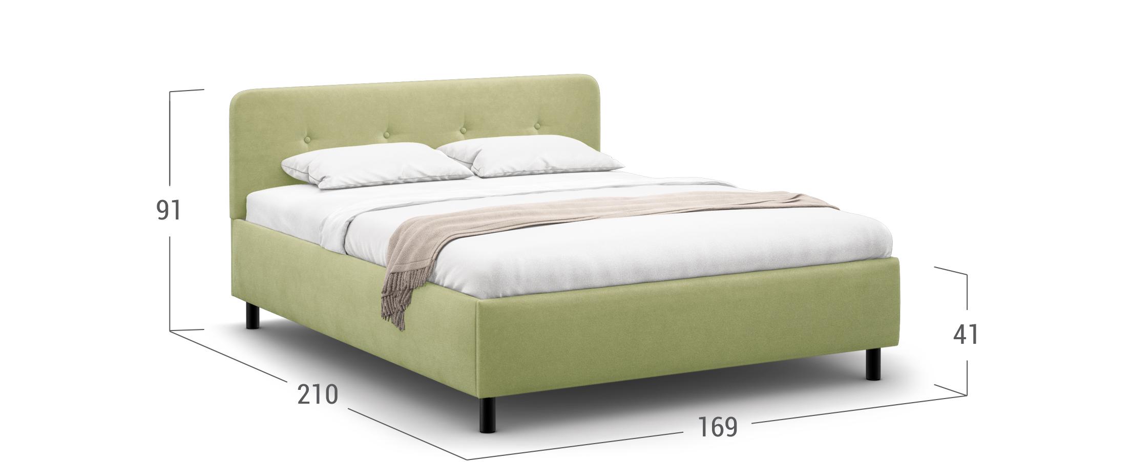 Кровать двуспальная MOON FAMILY 1232 160х200