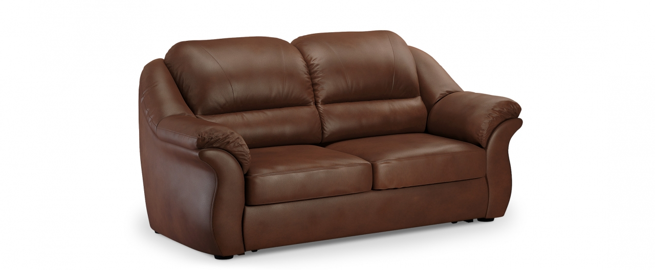 Диван прямой высоковыкатной Бостон 017Гостевой вариант и полноценное спальное место. Размеры 202х92х99 см. Купить красно-коричневый диван высоковыкатной в интернет-магазине MOON TRADE.<br>