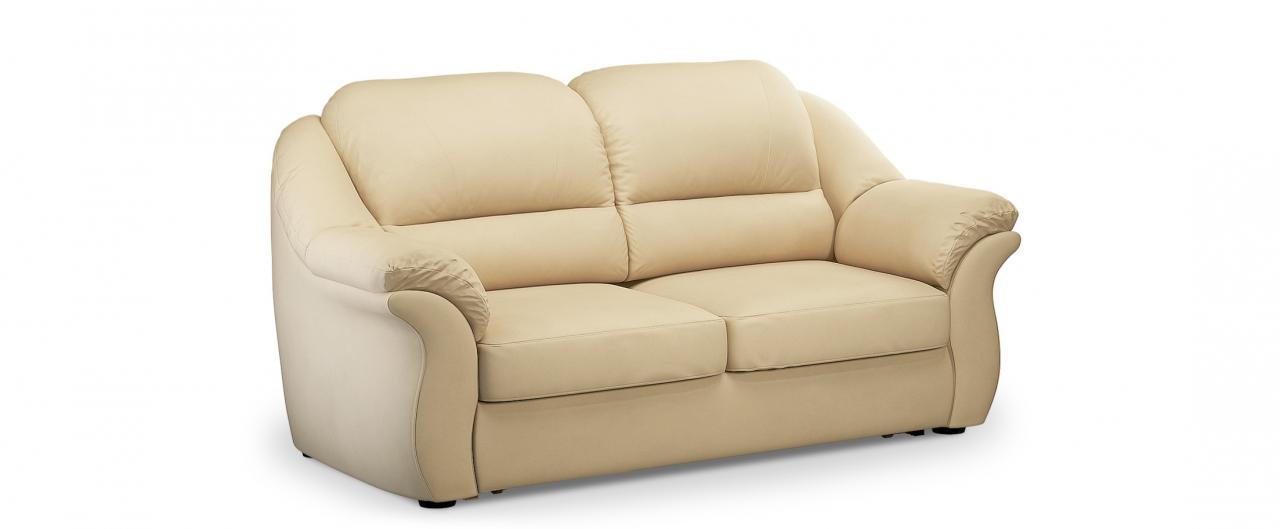 Диван прямой высоковыкатной Бостон 017Гостевой вариант и полноценное спальное место. Размеры 202х92х99 см. Купить бежевый диван высоковыкатной в интернет-магазине MOON TRADE.<br>