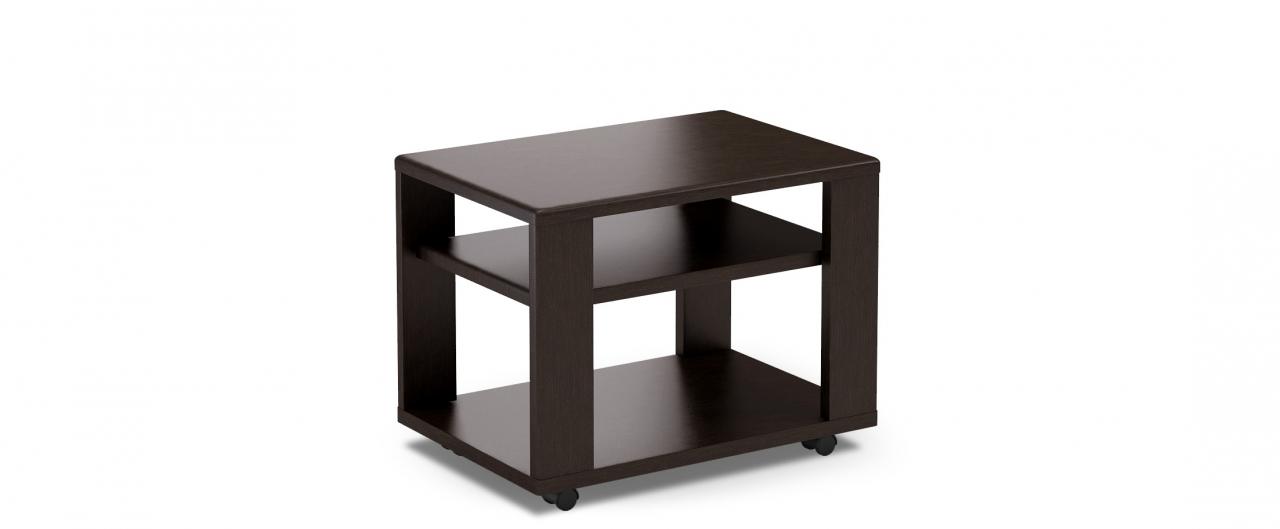 Журнальный стол Модель 026Сохраняет форму при колебаниях температуры. Устойчив к механическим воздействиям. Мобилен благодаря поворотным роликам. Доставка от 1 дня.<br>