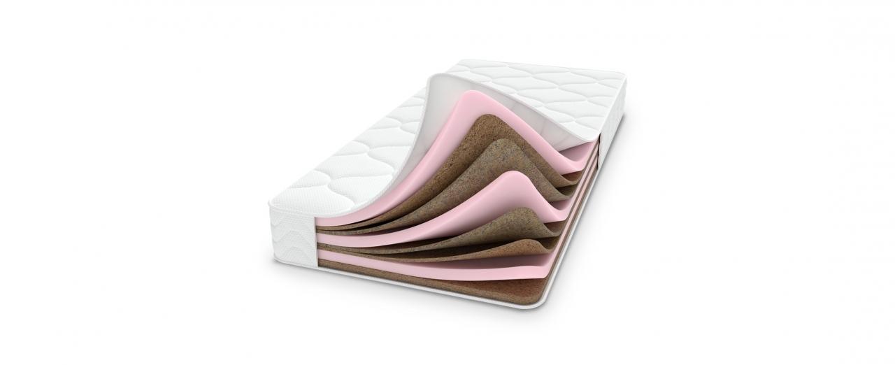 Матрас Chamelion 276Одна сторона матраса средней жёсткости, другая жёсткая. Создаёт микроклимат спального места. Размеры 140x200 см. Купить в интернет-магазине MOON TRADE.<br>