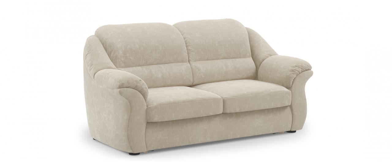 Диван прямой высоковыкатной Бостон 017Гостевой вариант и полноценное спальное место. Размеры 202х92х99 см. Купить бежевый диван выкатной в интернет-магазине MOON TRADE.<br>