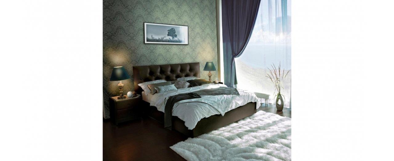 Двуспальная кровать MARLENA Модель 257Модель 257 арт. К000015 - кровать MARLENA  (Марлена) без подъемного механизма. Двуспальная кровать цвета венге выполнена из современных, надежных и экологичных материалов.<br>
