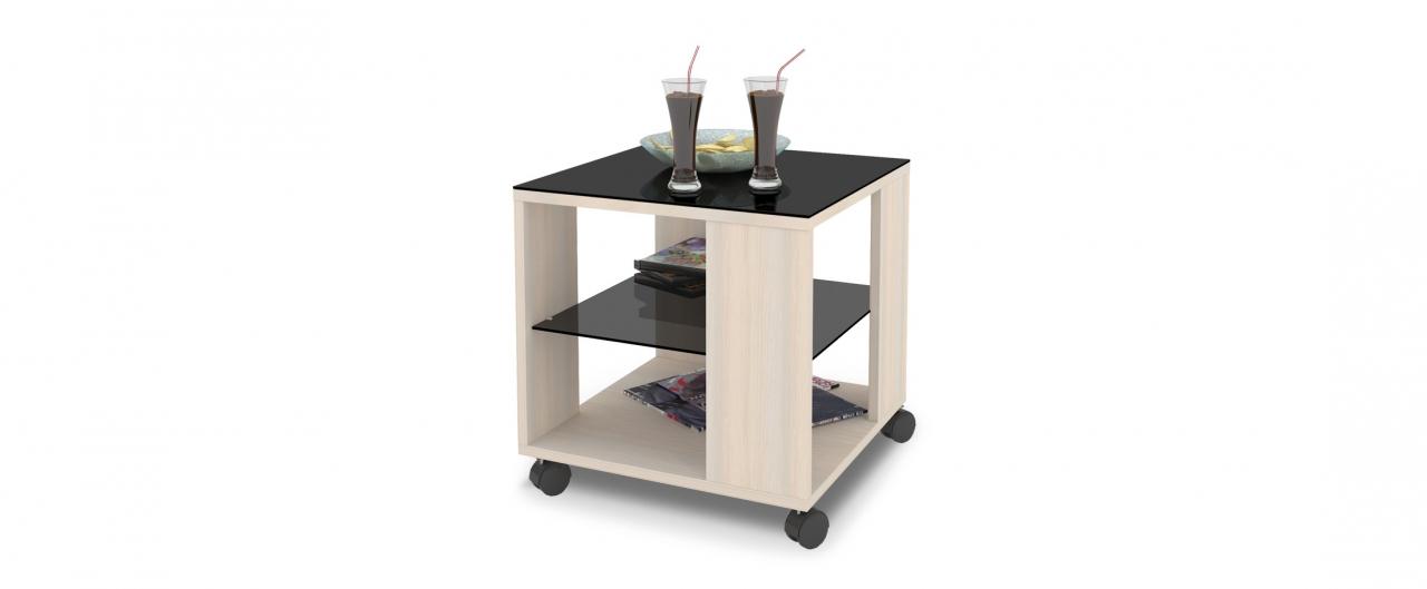 Журнальный стол Mayer 2 Модель 341Стильный четырёхколёсный стол легко передвигается по любому покрытию. Столешница из закалённого стекла, плюс две дополнительные полочки. Гарантия 18 месяцев. Артикул: Д000051.<br>