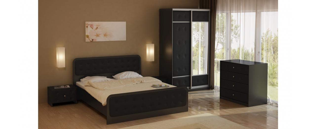 Двуспальная кровать Неро Модель 358