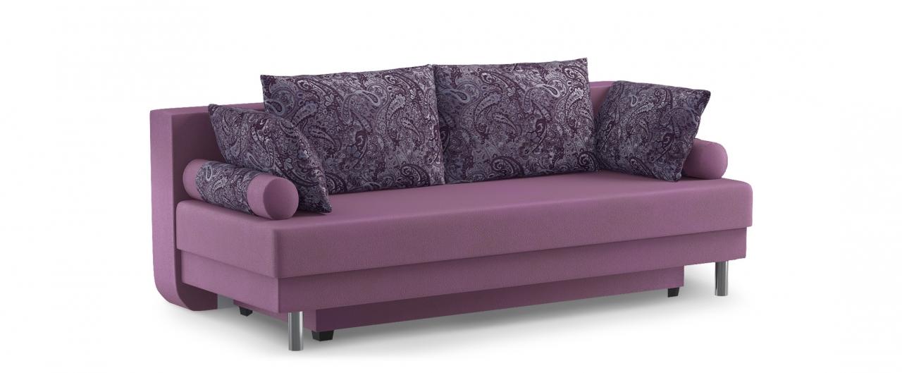 Диван прямой Палермо 020Диваны прямые<br>Гостевой вариант и полноценное спальное место. Размеры 205х90х87 см. Купить разноцветный диван еврокнижка в интернет-магазине MOON TRADE.<br>