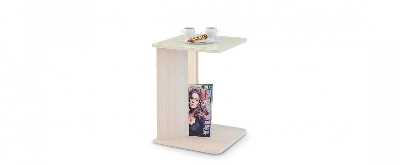 Журнальный стол Mayer 5 Модель 347Столешница из закалённого стекла выдерживает нагрузки до 45 кг. Не боится горячего, бытовой химии и не выгорает. Доставка от 1 дня. Купить в интернет-магазине MOON TRADE.<br>