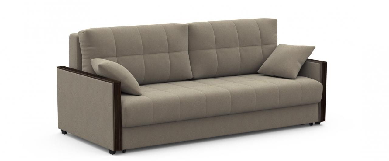 Диван прямой еврокнижка Мадрид 093Гостевой вариант и полноценное спальное место. Размеры 217х108х95 см. Купить серый диван еврокнижка в интернет-магазине MOON TRADE.<br>