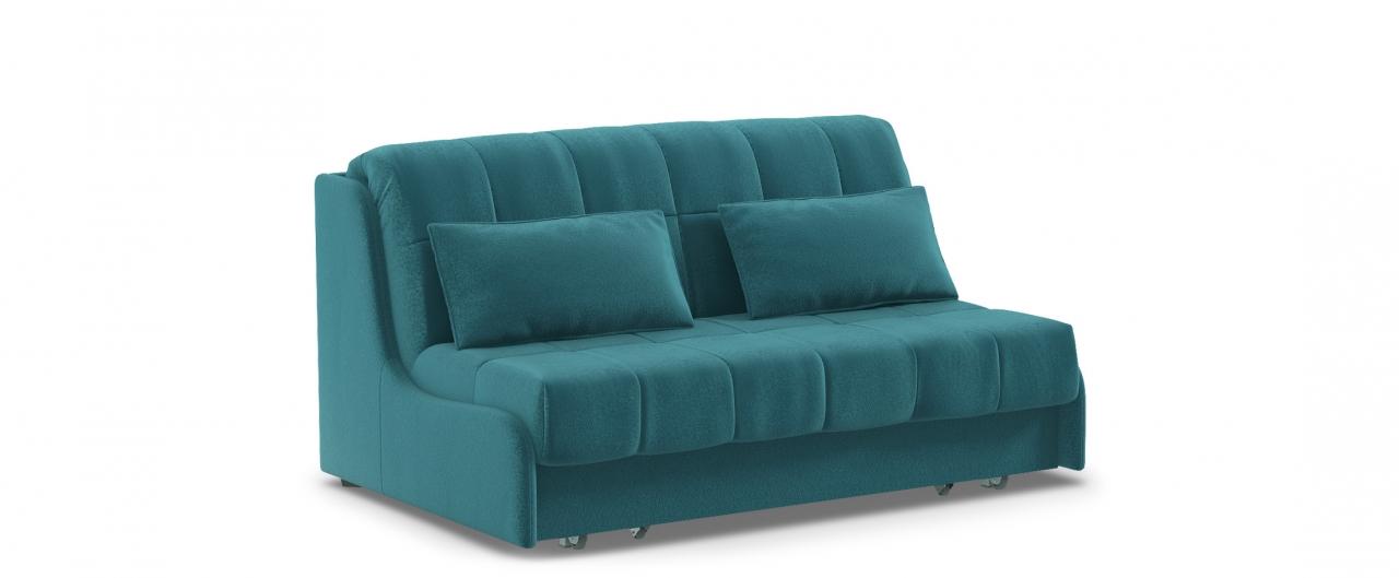 Диван прямой Прага 105Гостевой вариант и полноценное спальное место. Размеры 160х108х90 см. Купить зеленый диван аккордеон в интернет-магазине MOON TRADE.<br>