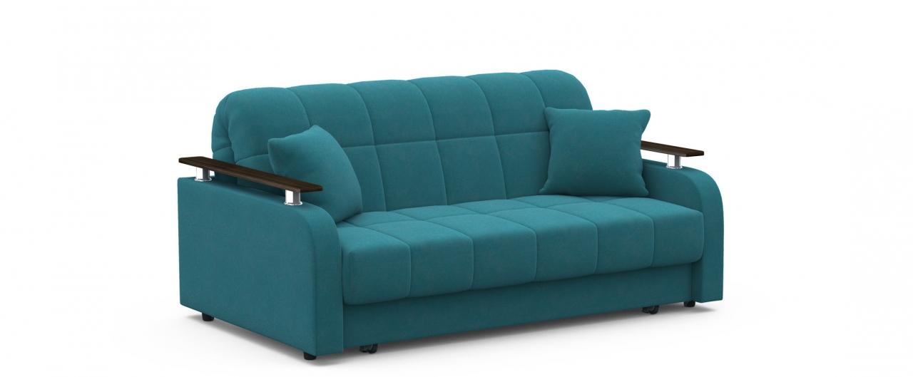 Диван прямой аккордеон Карина 044Гостевой вариант и полноценное спальное место. Размеры 170х104х88 см. Купить зеленый диван аккордеон в интернет-магазине MOON TRADE.<br>
