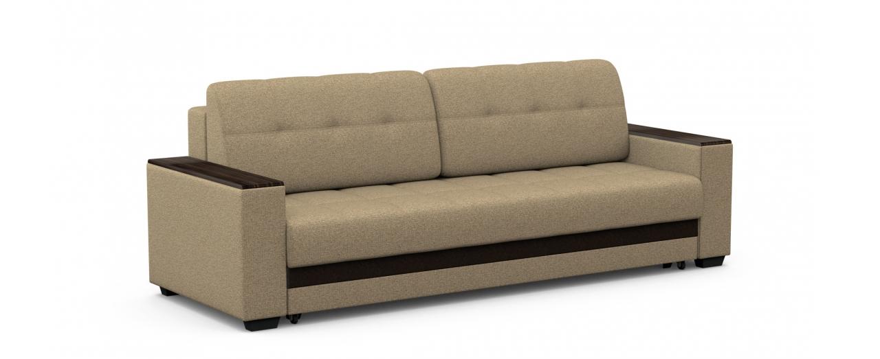 Диван прямой еврокнижка Атланта 066Гостевой вариант и полноценное спальное место. Размеры 241х93х86 см. Купить бежевый диван еврокнижка в интернет-магазине MOON TRADE.<br>