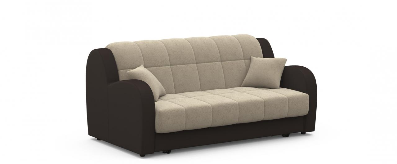 Диван прямой аккордеон Барон 022Гостевой вариант и полноценное спальное место. Размеры 173х104х88 см. Купить светло-бежевый диван аккордеон в интернет-магазине MOON TRADE.<br>