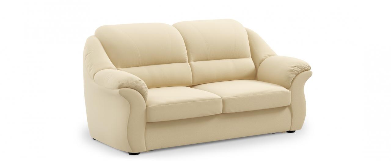 Диван прямой высоковыкатной Бостон 017Гостевой вариант и полноценное спальное место. Размеры 202х92х99 см. Купить светло-бежевый диван высоковыкатной в интернет-магазине MOON TRADE.<br>