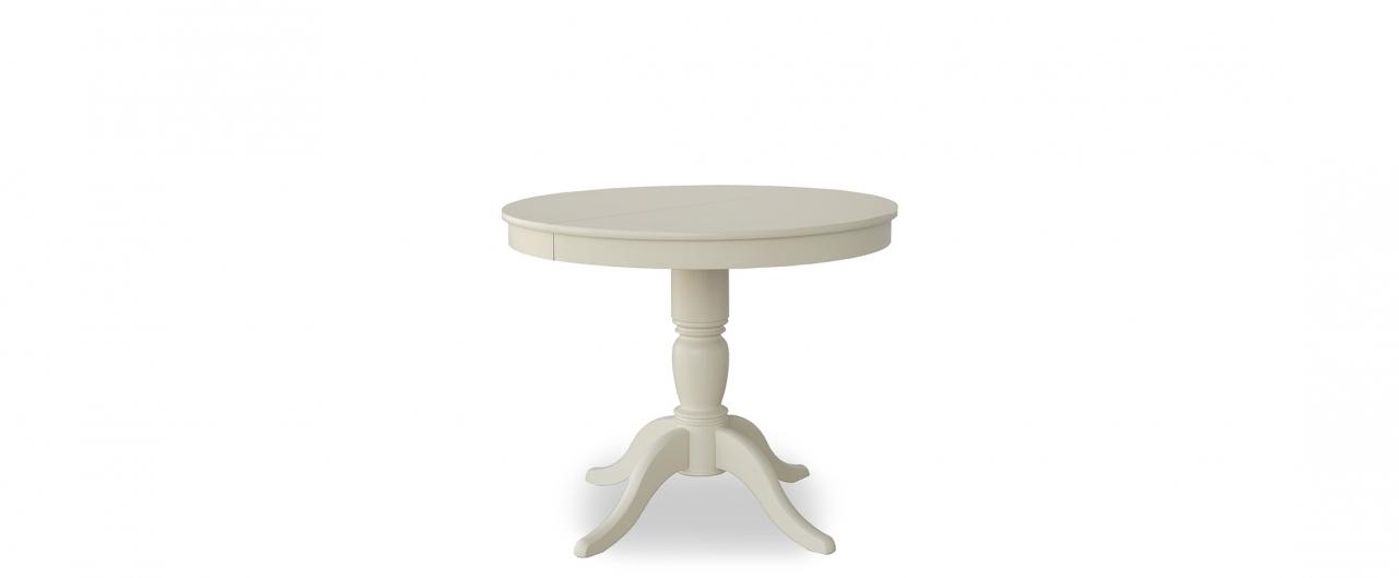 Стол Фламинго 1 Слоновая кость Модель 370Ножки стола из массива дерева, столешница из шпона МДФ. Не образует трещин, идеально сохраняет компактную круглую форму. Гарантия 18 месяцев. Доставка от 1 дня.<br>